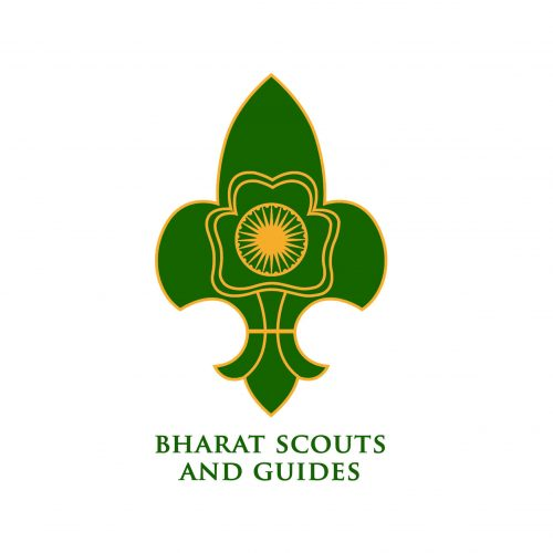 Bharat Scouts and guides logo