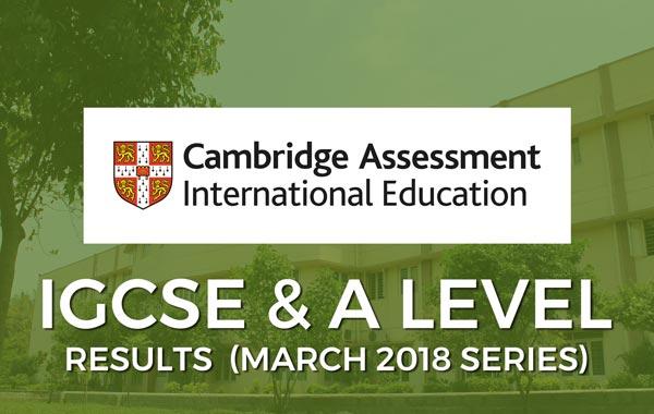 IGCSE & A Level Results