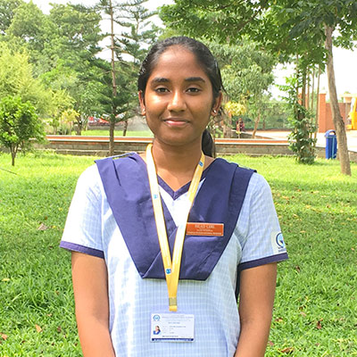 Head Girl - Swathi Raghupathy