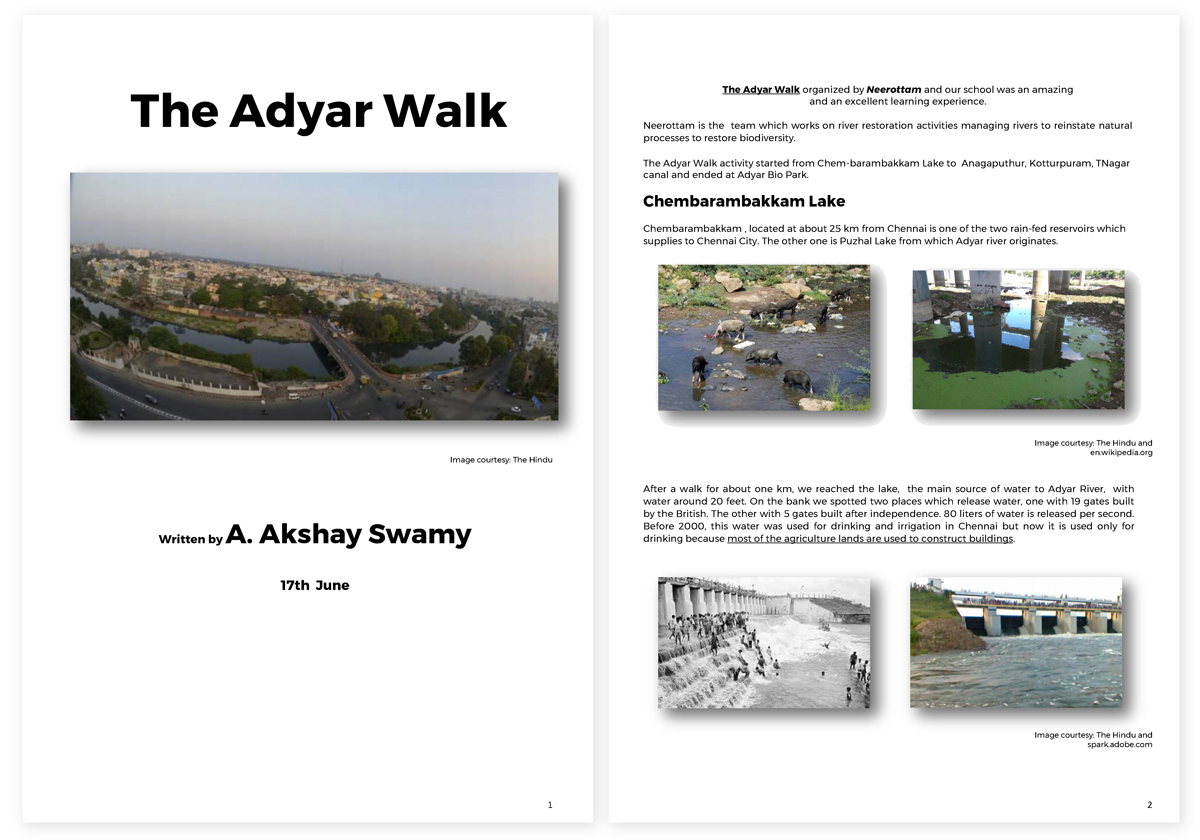 A-walk-over-Adyar-River-Bank-word