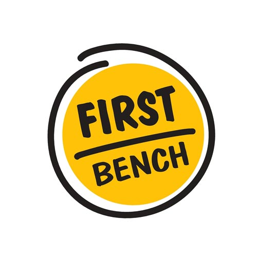 First bench