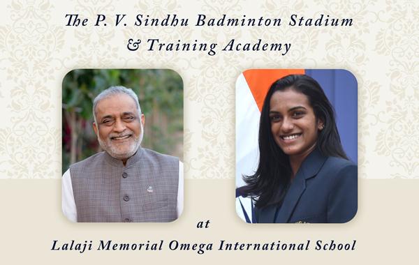 The P. V. Sindhu Badminton Stadium & Training Academy